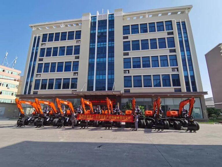 08 units 90Z wheel excavators