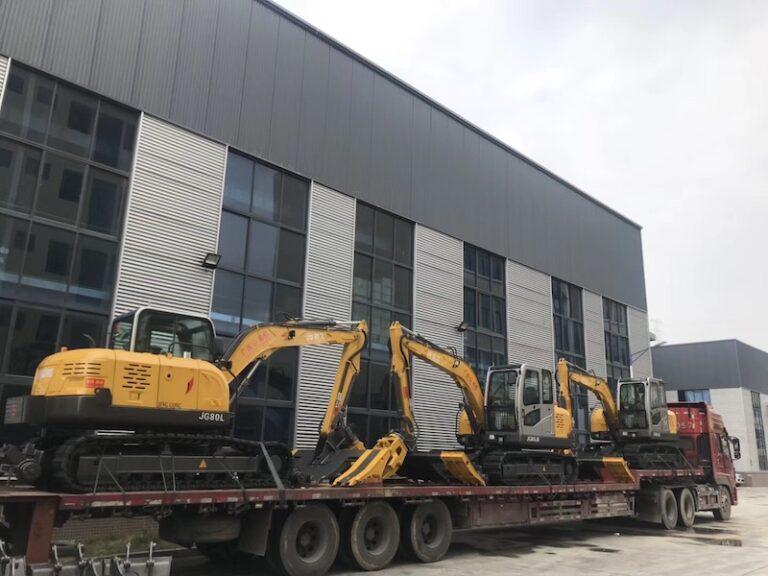 JG80L-A railway ties replacer shipment