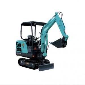 1.6T Rubber Mini Crawler Excavator For Garden Working