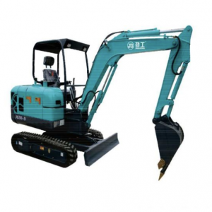 2.6 Ton Small Crawler Excavator With Replaceable Rubber Track