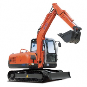 6 Ton Iron Track Excavator With 360 Degree Rotation