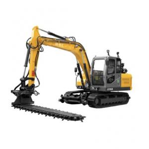 8 Ton Crawler Excavator With Railway Ballast Machine