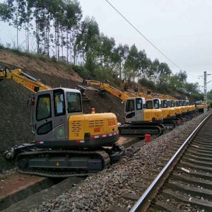 Railway ballast undercutter